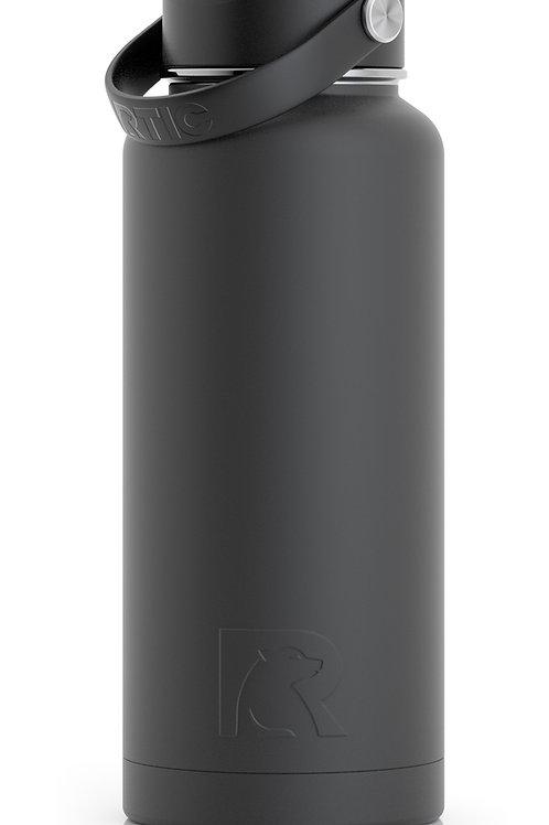 32 oz  Botella de Agua Tapa Ancha Carbon Matte- Cod:1447