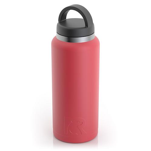36 oz Botella de Agua Tapa Ancha Rojo Ladrillo Matte- Cod1550