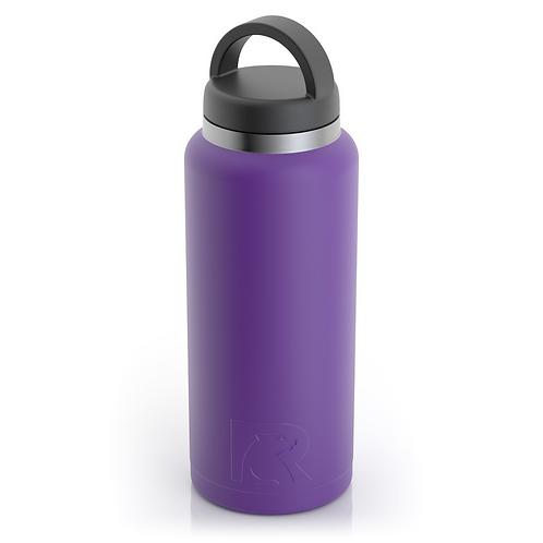 36 oz Botella de Agua Tapa Ancha Morado Matte- Cod1554