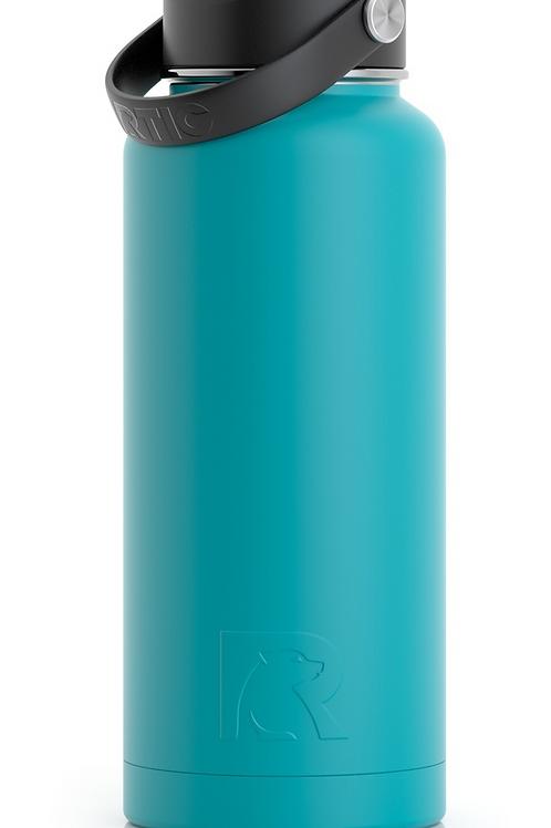 32 oz Botella de Agua Tapa Ancha Caribe Matte- Cod:1449