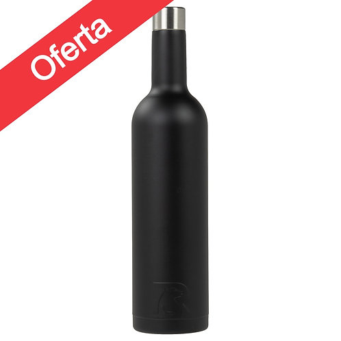 Botella Vino 750 ml Negro- Cod:858