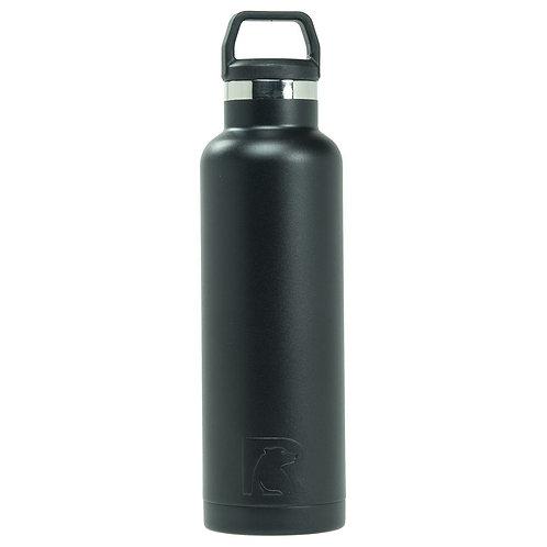 20 oz Botella de Agua Carbon Matte