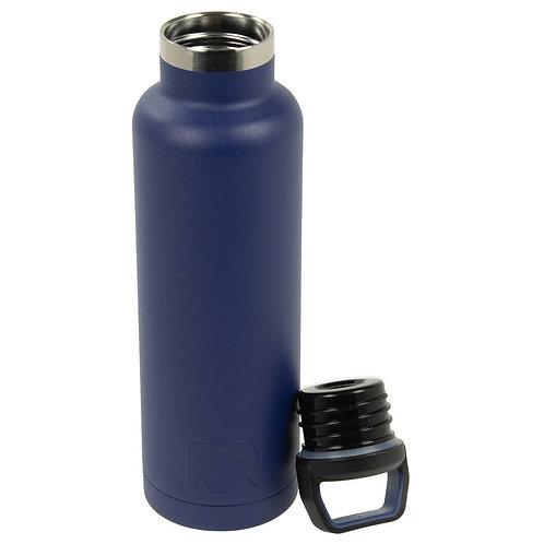 20 oz Botella de Agua Azul libre