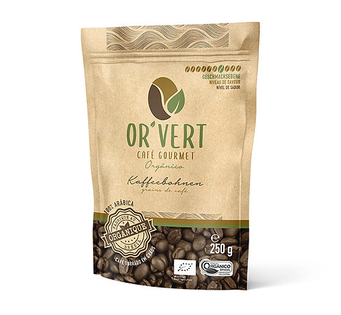 Or´Vert  Café Gourmet en grains 250g
