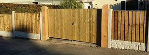 fencing drive gates