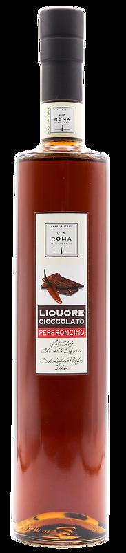 Liquore Cioccolato e peperoncino Via Rom