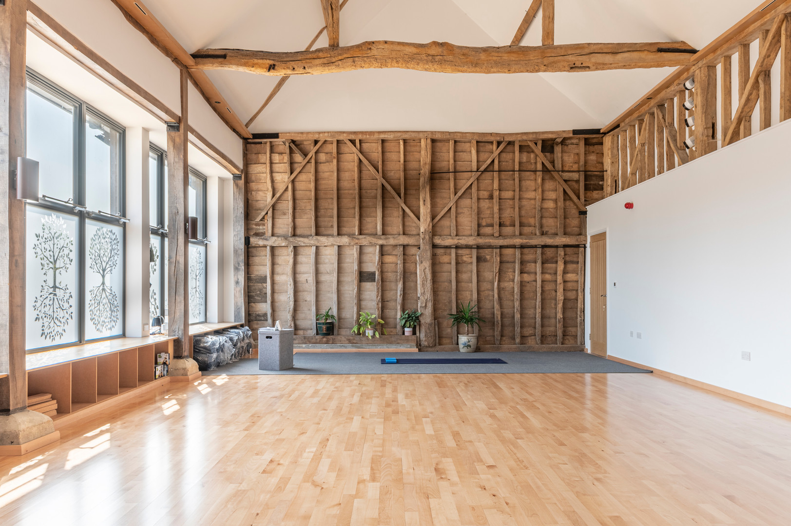 The studio at the Barn at Denbies Wine Estate