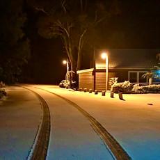 Snow surrounding