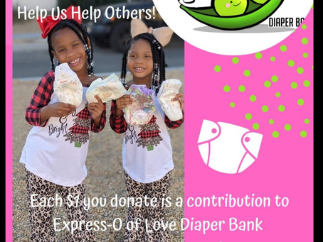 Win while supporting the diaper bank
