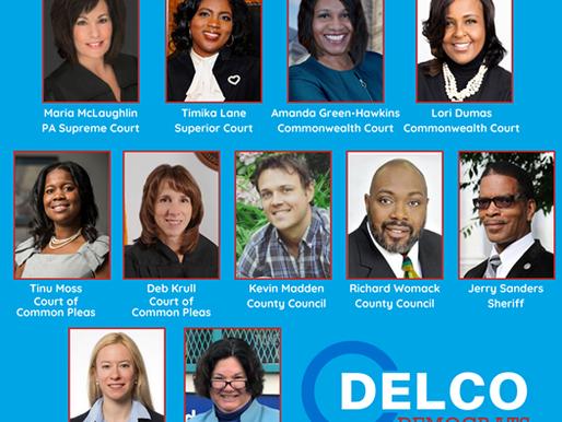 Delaware County Dems Endorsements