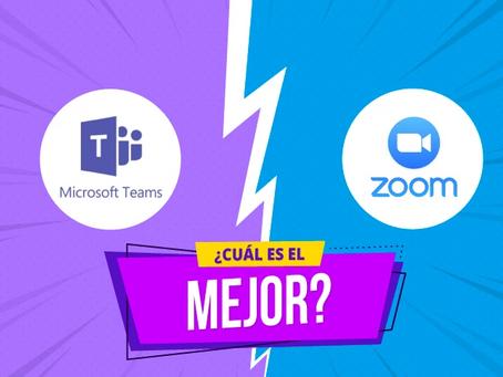 """""""El versus de la cuarentena"""": Zoom vs Teams ¿Cuál es mejor?"""