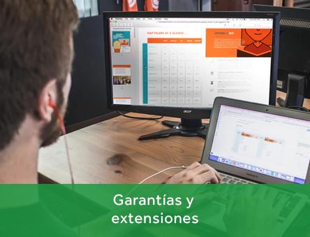 Garantías y extensiones