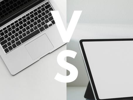 Tablet o Notebook. ¿Qué elegir?