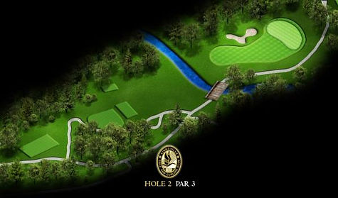 Signature Hole - #2 Gold at Kingsville Golf