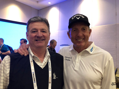 Jr.Golf Seminar with David Leadbetter-GREAT INSPIRATION !