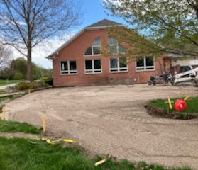 Patio Construction at Kingsville Golf