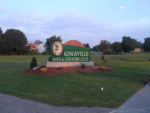 Entrance at Kingsville Golf