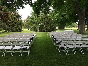 Outdoor wedding image