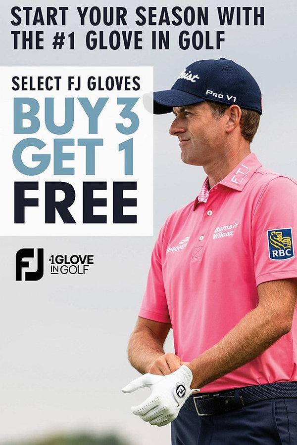 Glove Sale at Kingsville Golf
