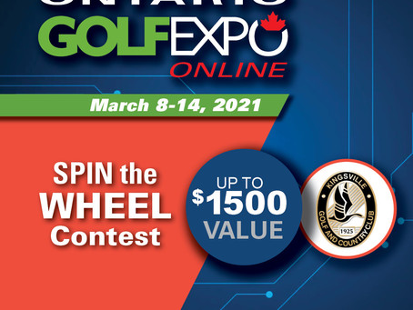 Join Us At The Ontario Golf Expo