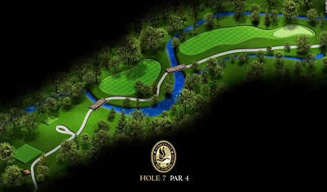 Signature Hole - #7 Gold at Kingsville Golf