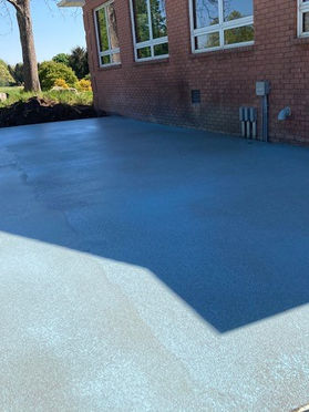 The Pad Is Now Poured