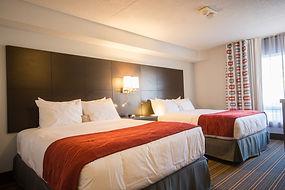 Guest room at Quality Inn Leamington