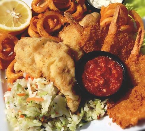 Perch & Shrimp Combo