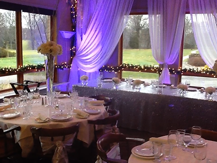 Clubhouse set for wedding at Kingsville Golf