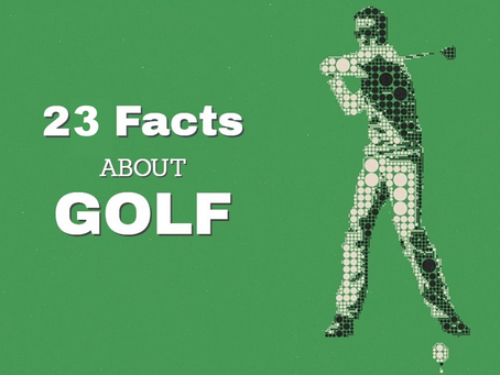 23 Weird Golf Facts You Probably Didn't Know
