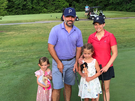 Family's on the course!