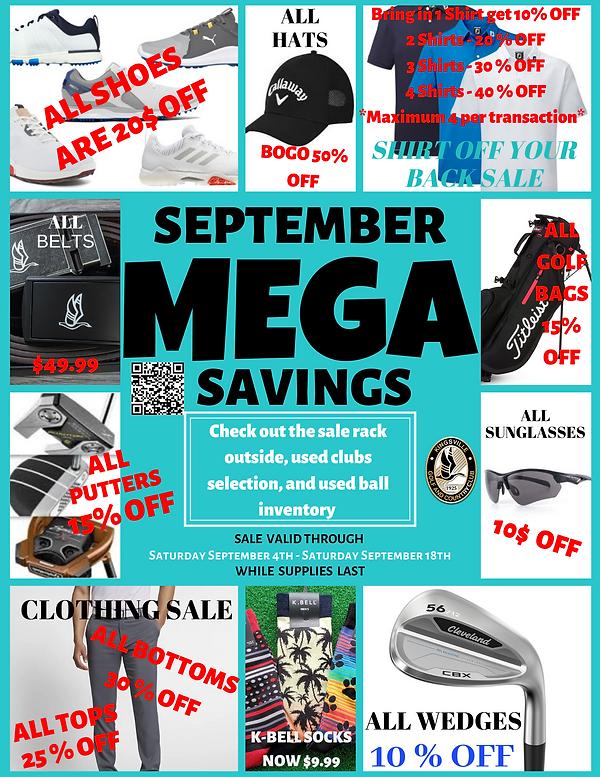 September Savings at Kingsville Golf