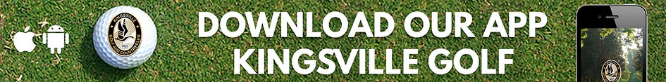Download the Kingsville Golf App!