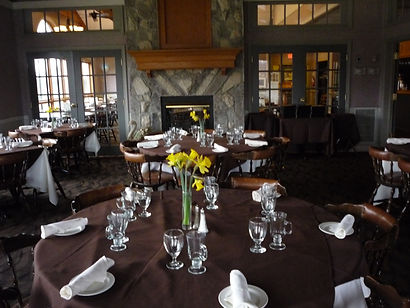 Clubhouse set for function at Kingsville Golf