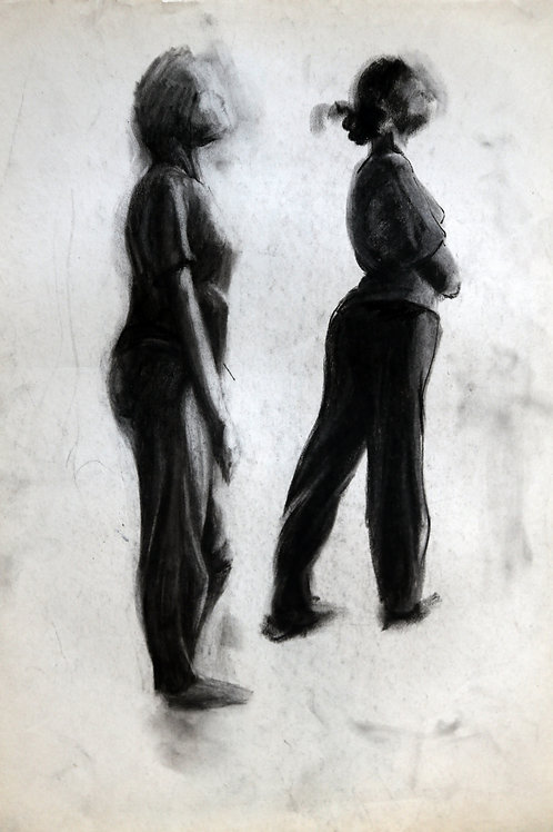Two Figures Drawing