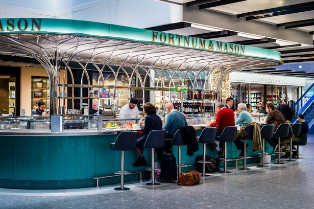 Fortnum and Mason Terminal 5