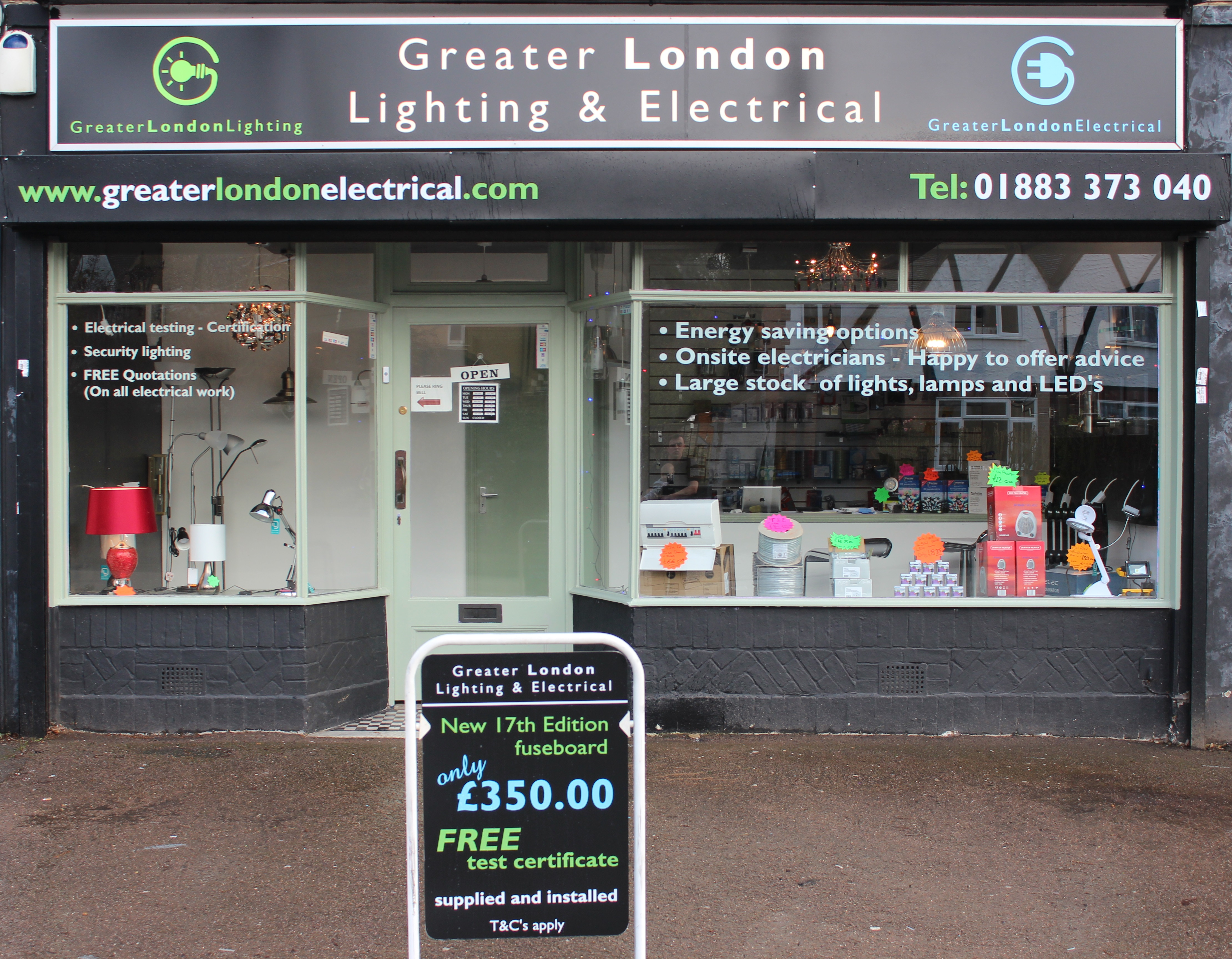 Greater London Lighting Shop