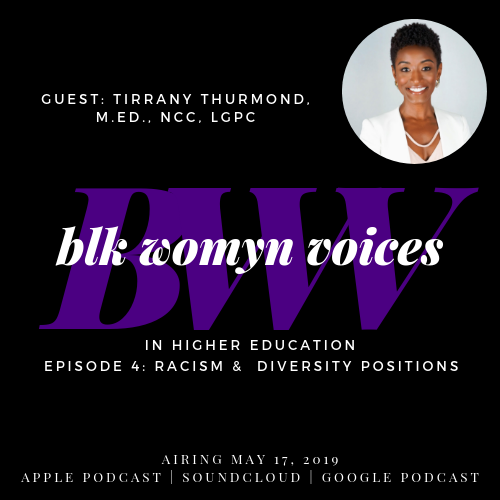 Racism and Diversity Positions - Podcast