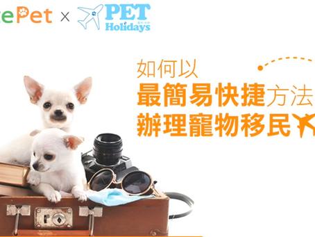 PRICERITE PET x PET HOLIDAYS 寵物移民手續快速懶人包