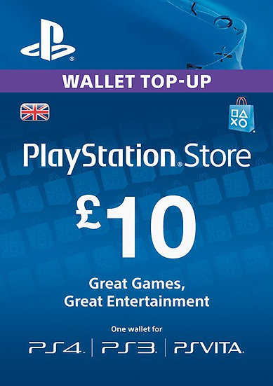 Playstation Network £10