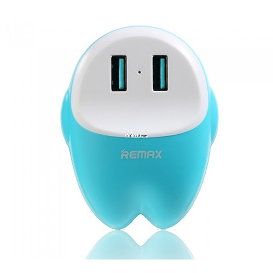 Remax Eva Lovely Dual USB 2.4A Charger For Cellphone Tablet Powerbank