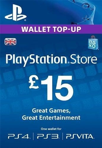 Playstation Network £15