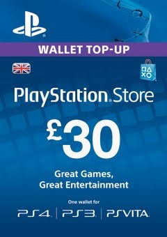 Playstation Network £30