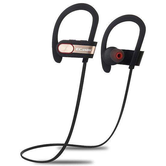 Ecandy Wireless Bluetooth V4.1 Headphones In-Ear Noise Cancel