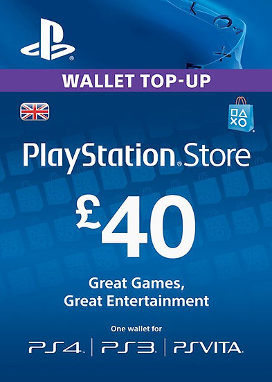 Playstation Network £40