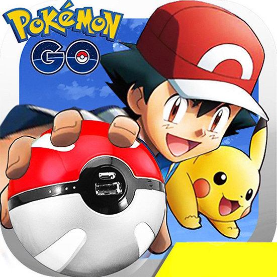 Pokemon Go PokeBall Dual USB 12000mAh Power Bank Ball