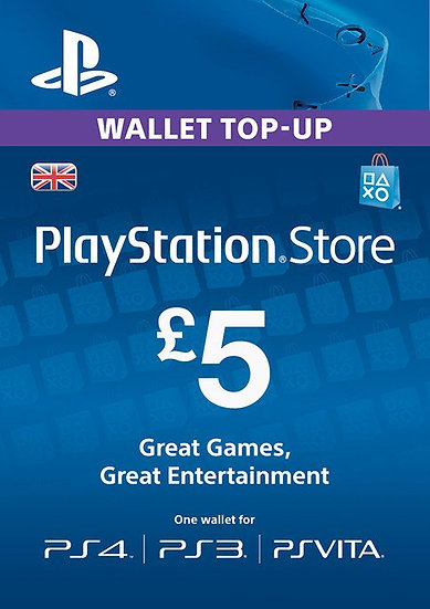 Playstation Network £5