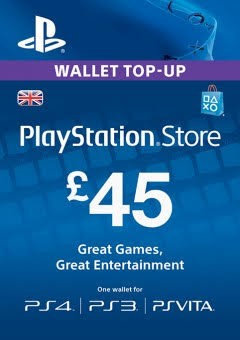 Playstation Network £45