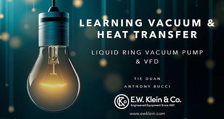 Learning vacuum & heat transfer - LRVP &