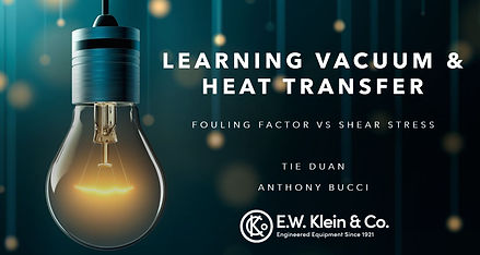 Learning vacuum & heat transfer - Foulin